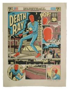 Daniel Clowes' The Death Ray