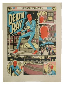 Daniel Clowes' The Death Ray
