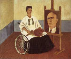 Frida Kahlo's Portrait of Doctor Farill http://bit.ly/1Mw7iU5